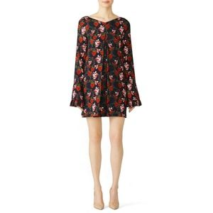 Mother of Pearl Strawberry Nora Dress 2-4 Floral